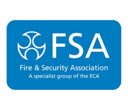 The Fire & Security Association (FSA) logo