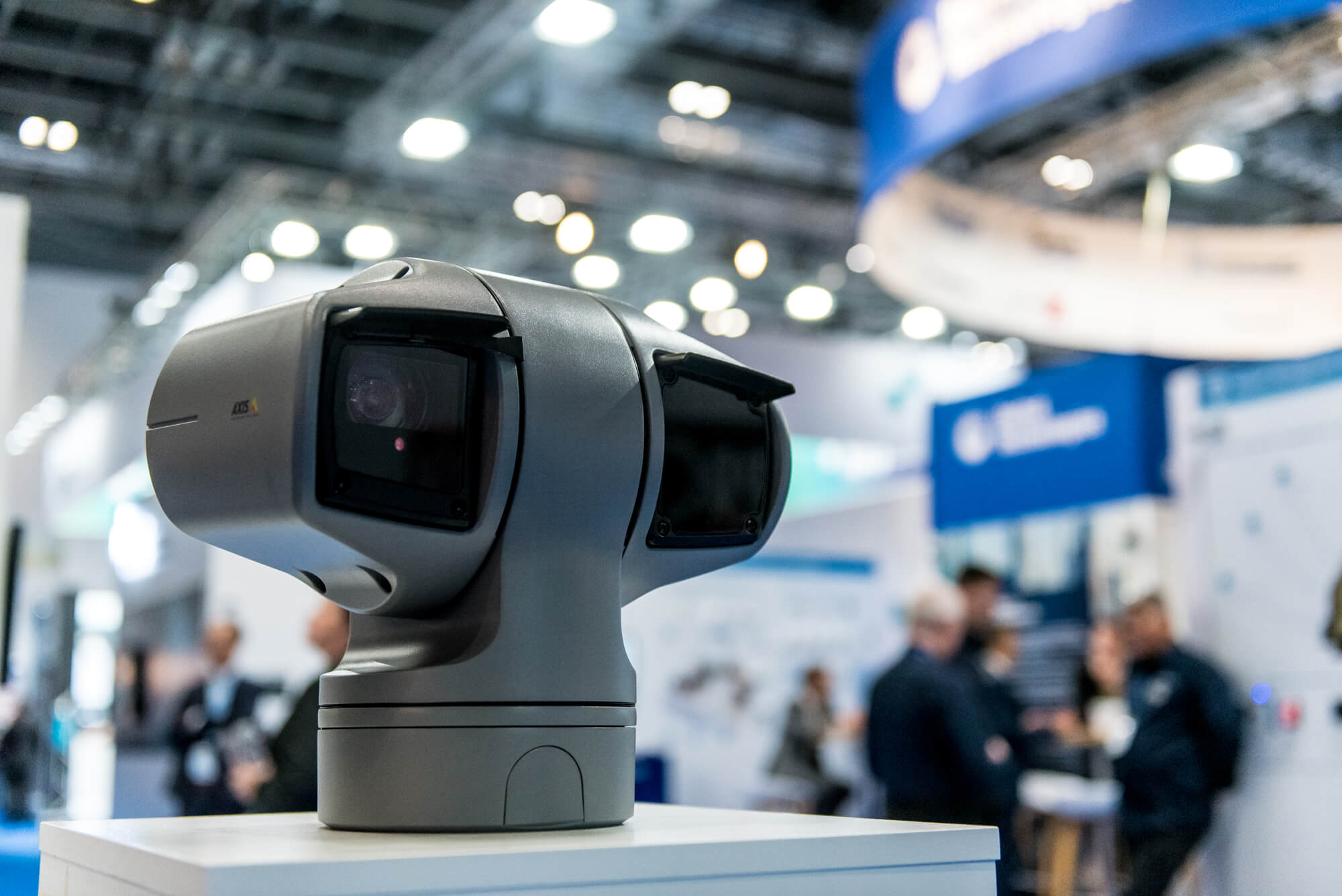 A security camera at IFSEC 2019