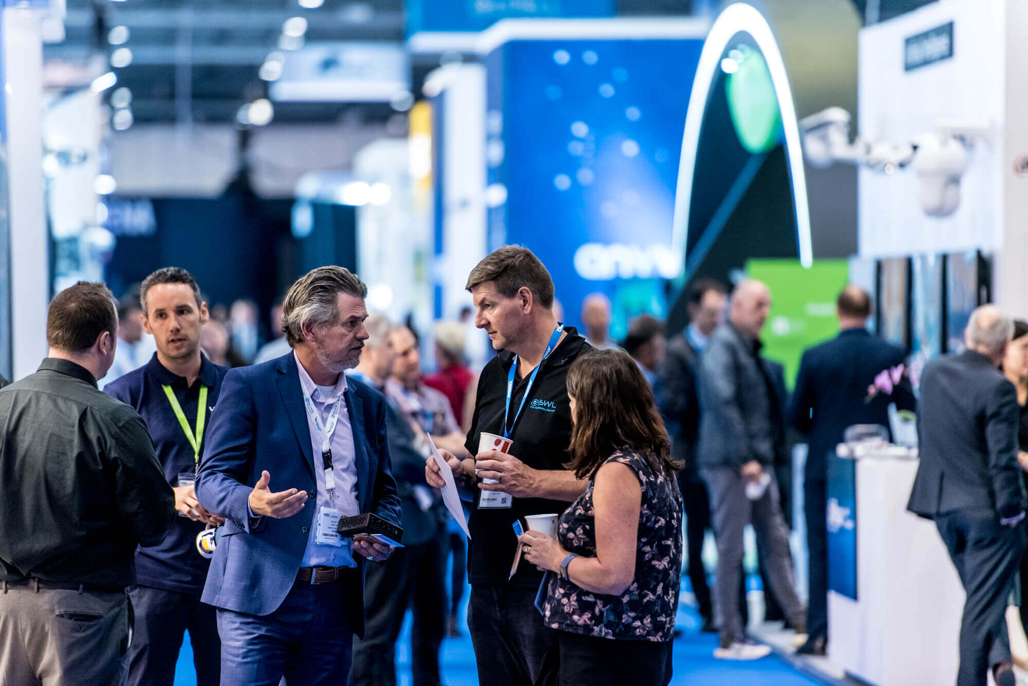 Big crowd at IFSEC 2019